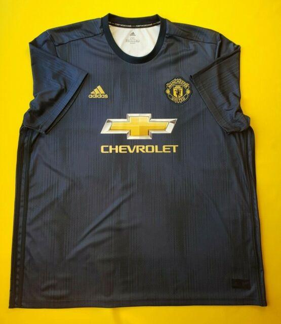 1b0359240 5 5 Manchester United Third Jersey XL 2018 Shirt DP6022 Soccer adidas Ig93