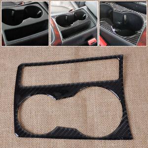 Fit-09-15-audi-A4-B8-A5-fibre-de-carbone-porte-gobelet-panneau-couverture-cadre-overlay-trim