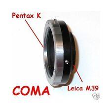 Leica M39 Zorki Voigtlander adattatore a lens PENTAX K raccordo adattatore -3256