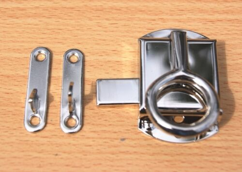 Ring Latch Nickel Plated for Wilson Sellers Napanee Cabinet