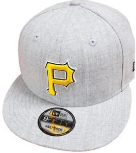 La imagen se está cargando New-Era-Pittsburgh-piratas-Gris-Heather-MLB-Gorra - 5e904a834e5