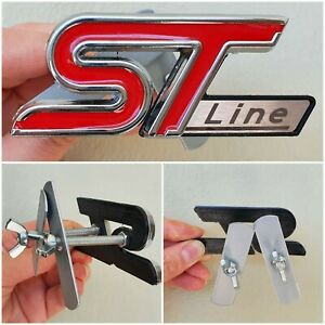 FORD ST LINE logo - type S - front grille - Puma, Focus, Fiesta, Mondeo