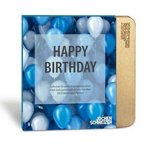 Jochen Schweizer Geburtstag