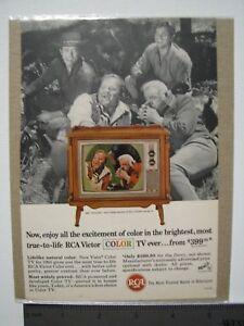 RCA-Victor-Color-TV-Vintage-Advertisement-1965-featuring-Bonanza