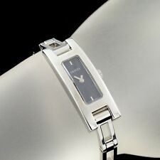 9bdbd4d5a59e74 Gucci Stainless Steel 3900L Quartz Ladies Watch Black Guilloche Dial