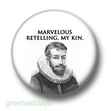 Marvelous Retelling My Kin 1 Inch / 25mm Pin Button Badge Cool Story Bro Meme