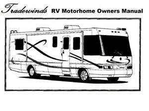 tradewinds motorhome manuals 435pg 1997 1998 1999 2000 2001 rv rh ebay com national tv service manual Older RV Manuals