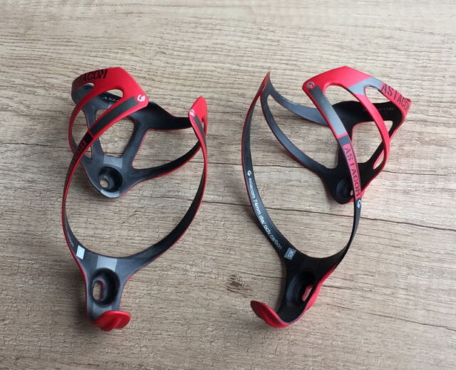 2x 74mm Carbon MTB XC Mountain Road Bike Bicycle Drink Water Bottle Holder Cage
