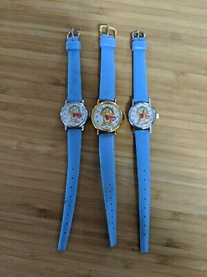 Lot of New old stock Care Bears wind up watches from 1980/'s  Never used 3