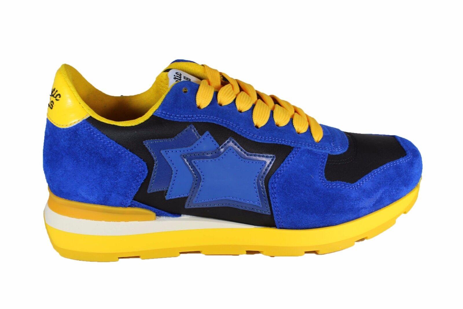 ATLANTIC STARS azul ante zapatillas ANTAR de ante azul STARS amarillo P/V 2018 63a7b1