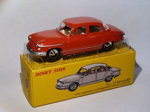 Panhard-PL-17-berline-Rouge-ref-547-au-1-43-de-dinky-toys-atlas-DeAgostini