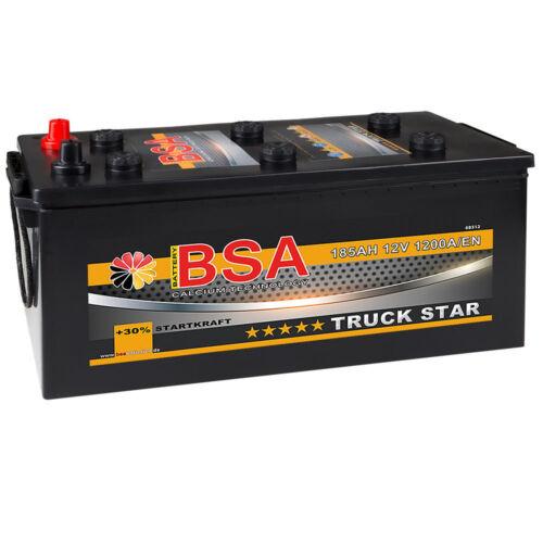 LKW Batterie Starterbatterie 12V 185Ah ersetzt 140Ah 143Ah 155Ah 170Ah 180Ah
