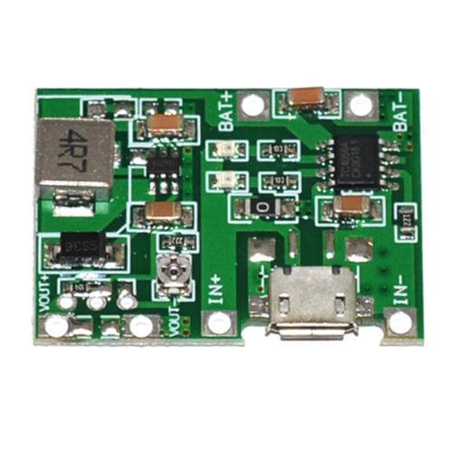USB Lithium 3.7V Battery Charging Module 4.2V Boost Step Up 5V 9V 12V 24 XSY
