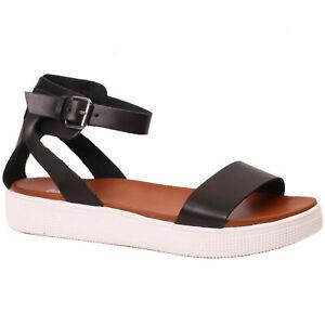 a0b5878a0d74 Women s MIA ELLEN Black Ankle Buckle Strap Dress Sandal Shoes