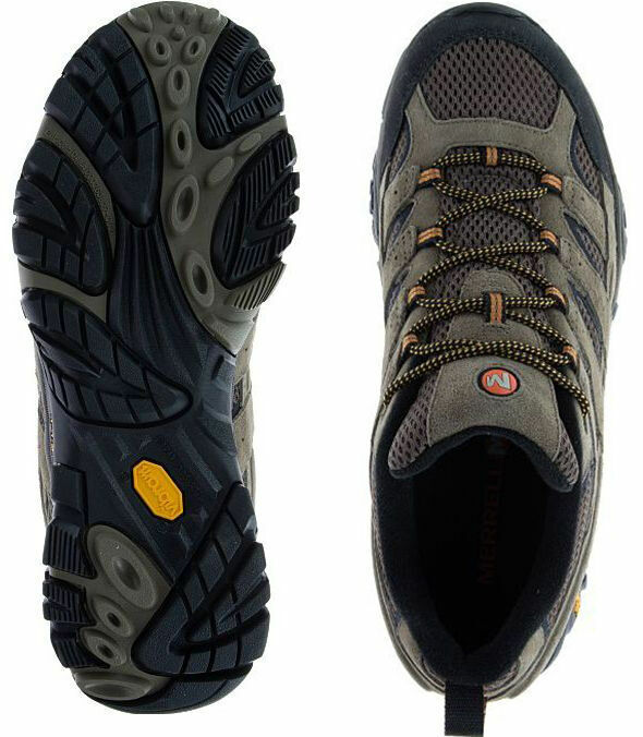 Merrell Moab 2 Vent Suede Waterproof Mens Walnut Brown Trail Hiking Shoes J06011