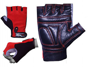 EVO-Fitness-Pure-Leather-Gym-Glove-Weightlifting-Cycling-wheelchair-Bodybuilding