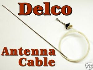 Delco Cadillac DEVILLE Power Antenna Mast CABLE NEW GM eBay