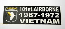 101ST AIRBORNE DIVISION VIETNAM US ARMY BUMPER STICKER