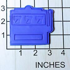 Jackpot Slots Machine Fondant Cookie Cutter and Stamp #1492