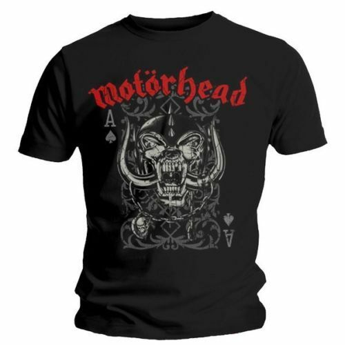 NEW /& OFFICIAL! Motorhead /'Playing Card/' T-Shirt