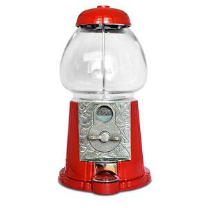Nostalgie-Kaugummiautomat-Retro-Designrot-Testpack-original-Jelly-Belly-Beans