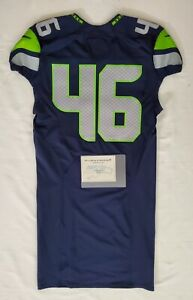 Seattle-Seahawks-Blank-46-Team-Issued-Home-Jersey-with-COA-SA-09291