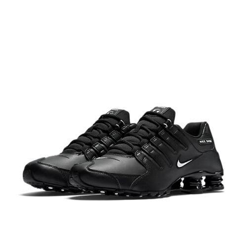 Nike shox nz bianco nero grigia delle scarpe da ginnastica grigia nero 501524 378341 Uomo ce3a3c