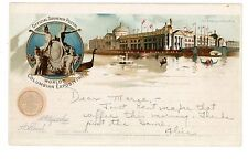 Chicago IL-ADMINISTRATION BUILDING-WORLD COLUMBIAN EXPOSITION-Goldsmith Postcard