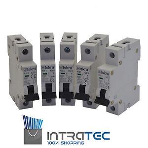 Backup MACHINES Miniature Circuit Breaker MCB 10a-32a 1 Pole Type B Fuses