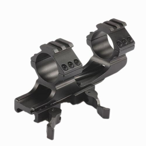 UniqueFire 25.4mm//30mm Quick Release Cantilever Weaver Dual Ring Scope Mount