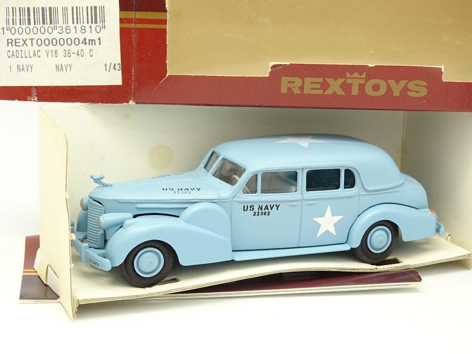 RexToys 1 43 - Cadillac V16 1940 US Navy Militaire (b)