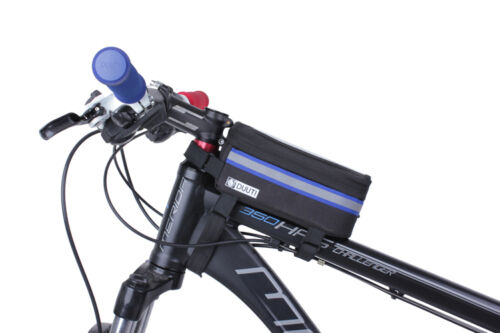 Cycling Cell Phone Holder Bicycle Frame Tube Bag Case For iPhone Samsung Reflect