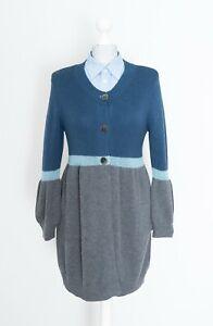 Max-Mara-Weekend-For-Japan-Wool-Long-Cardigan-Sweater-Size-L
