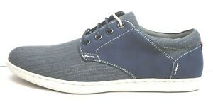 Steve-Madden-Size-7-5-Blue-Fashion-Sneaker-New-Mens-Shoes