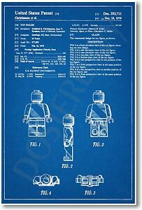 Lego-Figure-Patent-NEW-Vintage-Invention-Patent-Poster