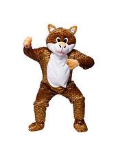 Adult Terrific Tiger Fancy Dress Mascot Costume Animal Zoo Wild Cat Unisex BN