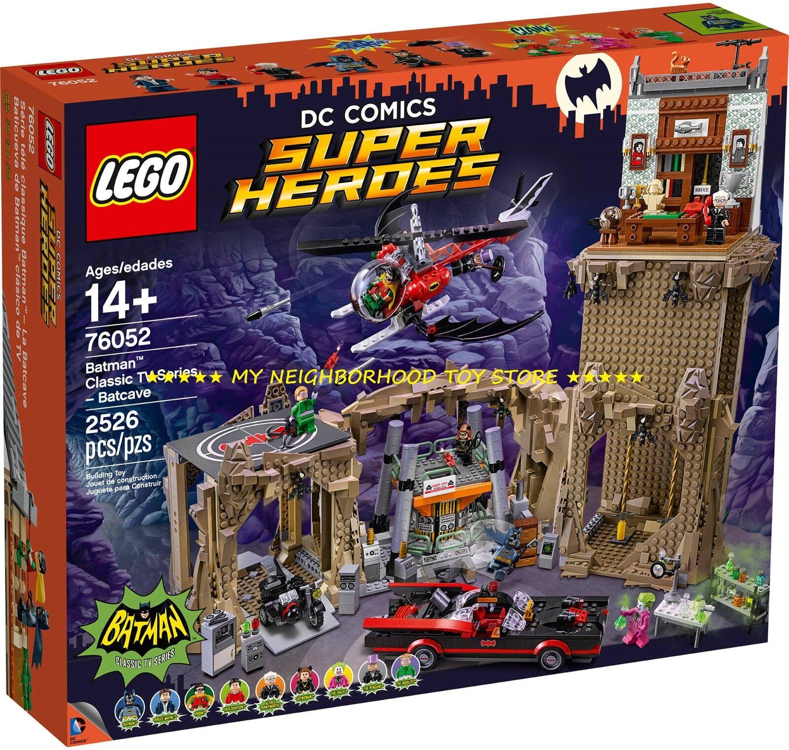 RETIrosso - LEGO 76052 DC COMICS™ SUPER HEROES™ BATCAVERNA BATMAN™ CLASSIC BATCAVE