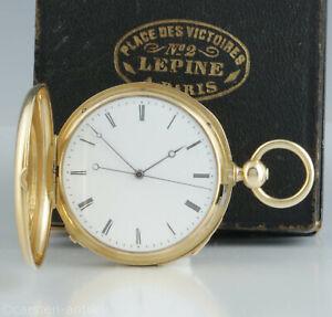 Lepine-a-Paris-Taschenuhr-Originalbox-1848-unabhaengige-Sekunde-Repetition-37-j