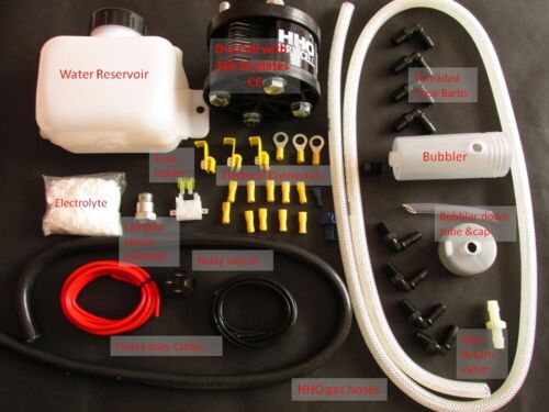 DC1500 Dry Cell HHO Kit for cars /& motorbikes Engines 600-1500cc CE certified