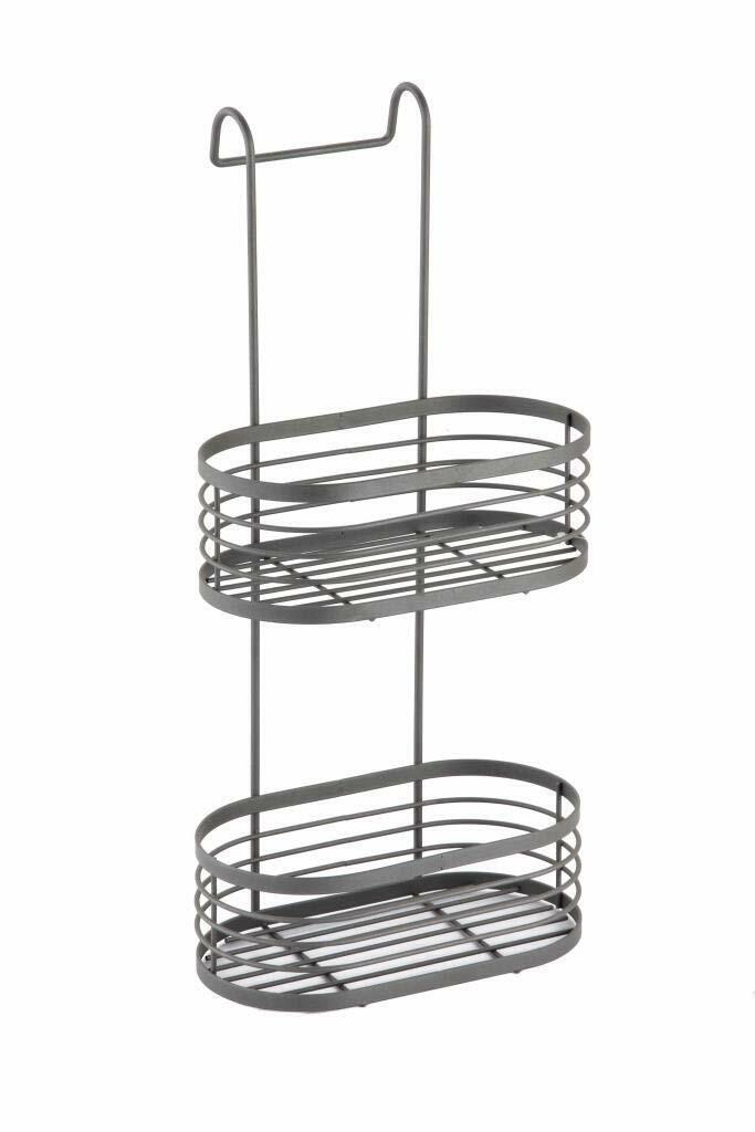 2 Tier Grey with Baskets Caddy
