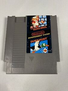 Mario-Bros-Duck-Hunt-Nintendo-Entertainment-System-NES-Cleaned-Tested-Works