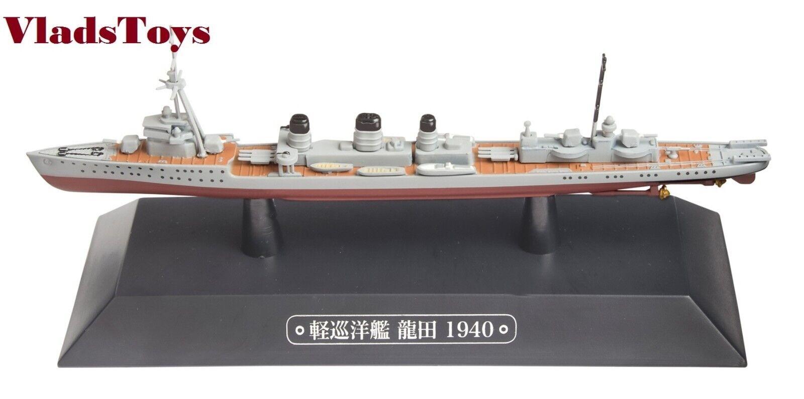 Eaglemoss 1 1100 Imperial Japanese Tenryu-class Light Cruiser IJN Tatsuta