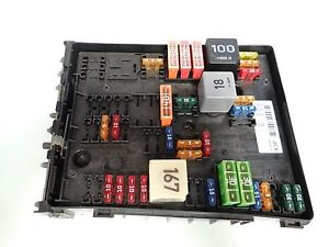 2007 volkswagen vw eos fuse box unit module ebay rh ebay co uk volkswagen eos fuse box vw eos fuse box location