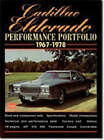 Cadillac Eldorado Performance Portfolio 1967-78: A Compilation of Road and Comparison Tests, Driving Impressions and New Model Introductions by Brooklands Books Ltd (Paperback, 2000)