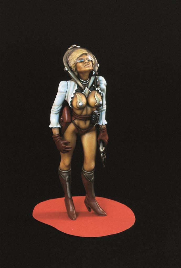 Verlinden Gebaut 120mm 1 16 Space Woman Original Show