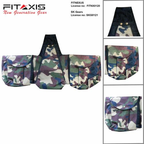 Faocnry Codura Commando plusieurs poches réglable gilet taille s/'adapte à tous les