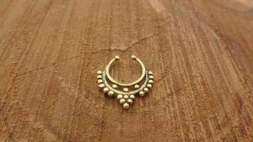 Christmas sale Faux Septum Septum Piercing Tribal Septum Ring Indian Septum Ring