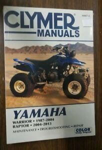 New-Clymer-Repair-Manual-Yamaha-Warrior-87-04-Raptor-04-13-M487-5
