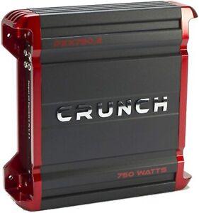 CRUNCH PZX750.2 - 2 Channel - 750 watt Amplifier