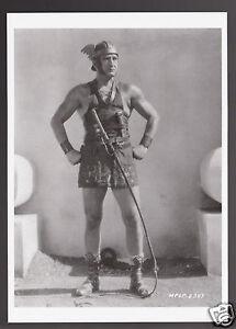 Francis X Bushman Actor As Messella In Ben Hur 1926 Mgm